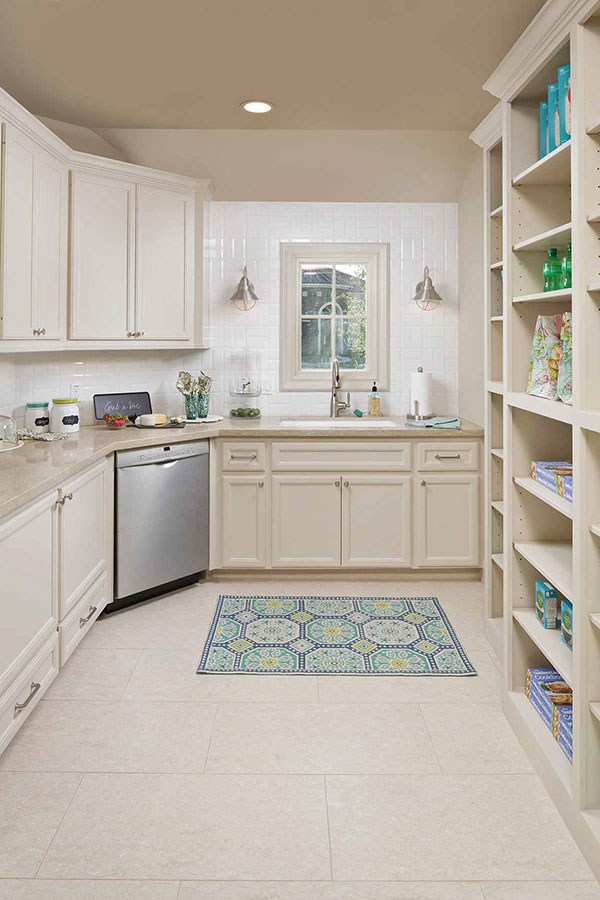 Small Kitchen with multi-functional storage