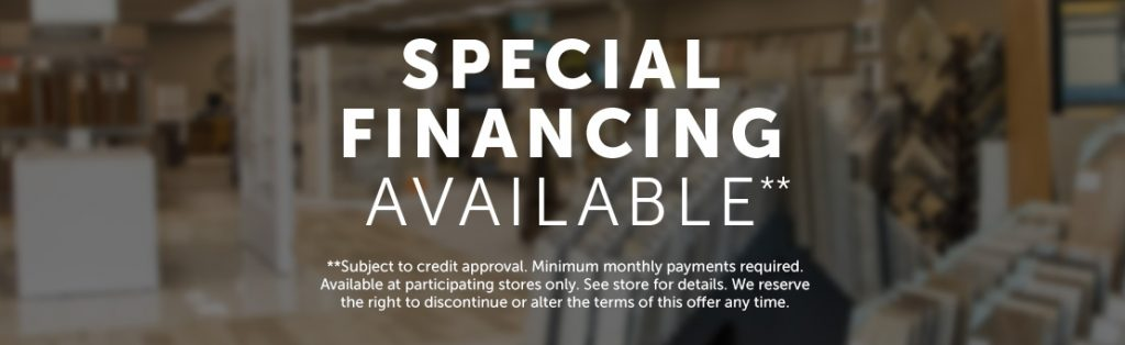 ProFloors and Cabinets Financing
