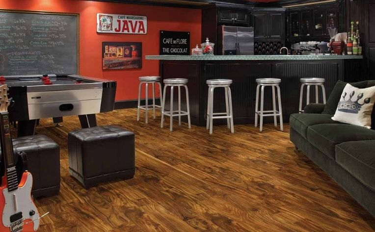 Up Your Game Room's Game, with New Flooring